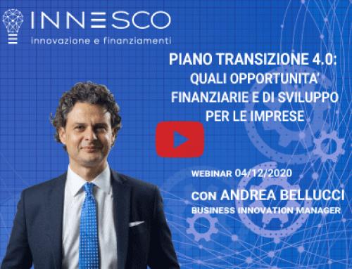 Piano Transizione 4.0: Quali Opportunità Finanziarie e di Sviluppo per le Imprese